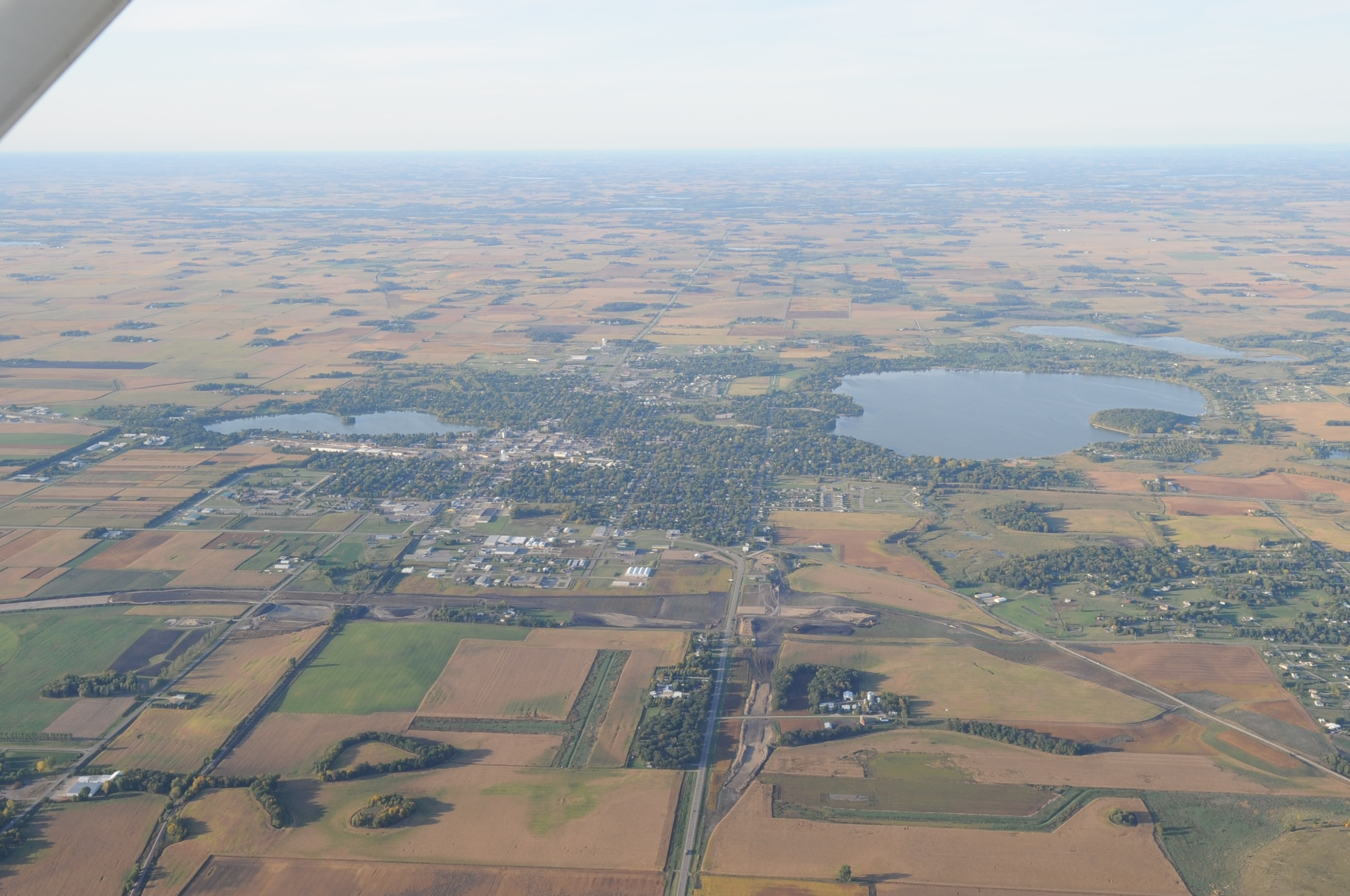 Aerial Photo of Waseca