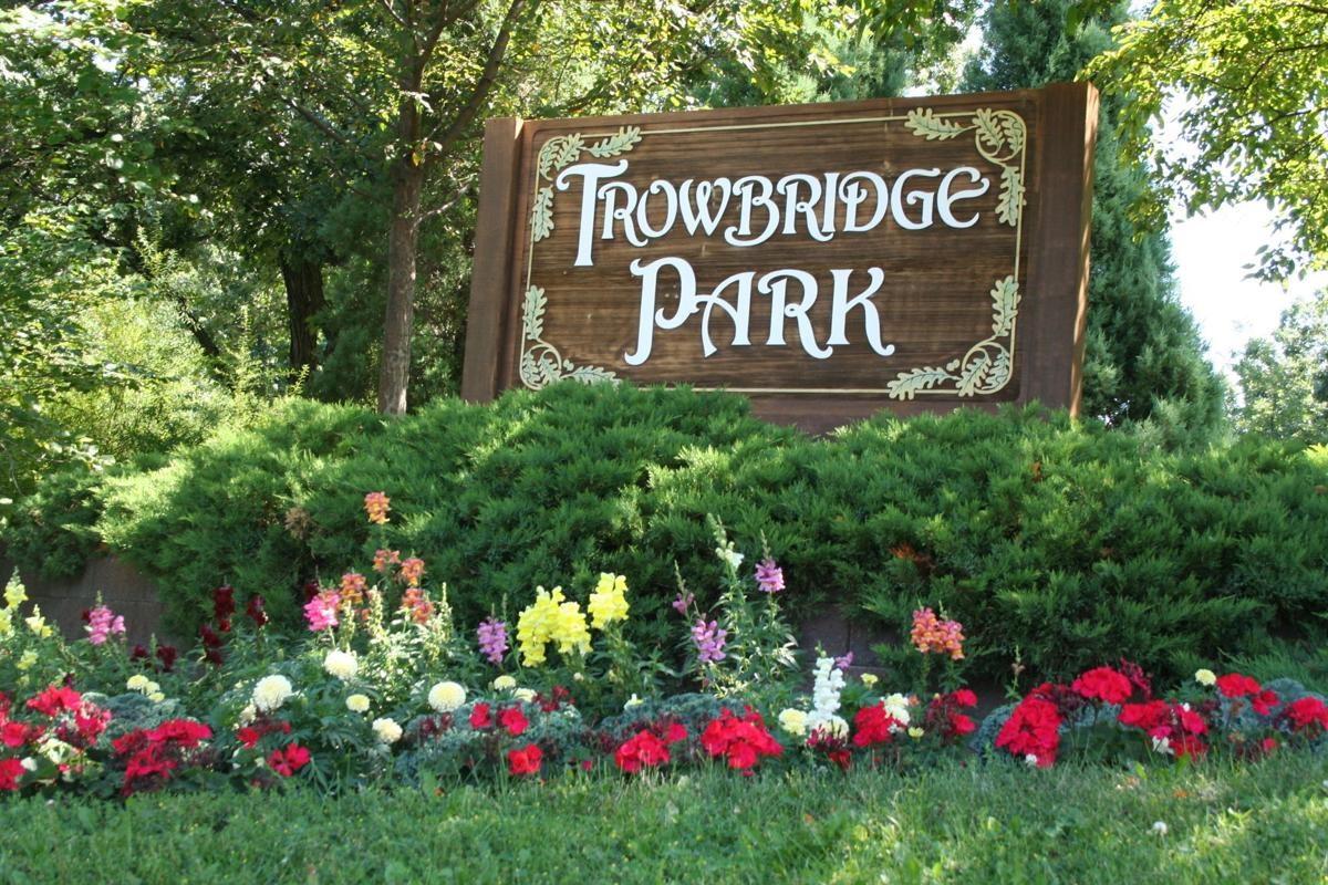 Trowbridge Park Sign