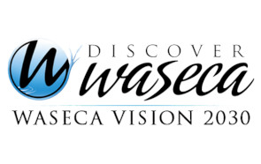 Discover Waseca Vision 2030 Logo