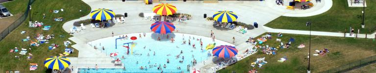 Waseca Water Park - Aerial Photo